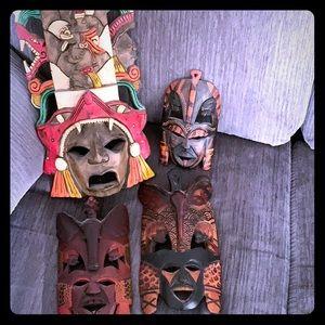 Other - Wooden decorative masks
